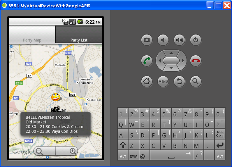Android Itemized Overlay Example