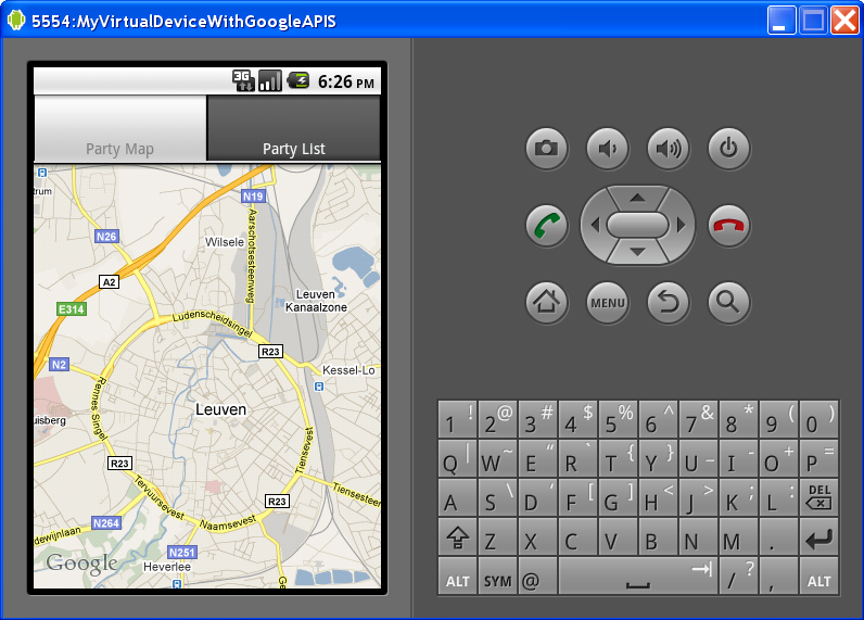 Android Google Maps Example